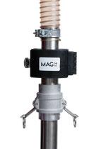 Magnet für Rohre und Sauglanzen