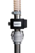 Innovativer Magnetabscheider für Rohre und Sauglanzen