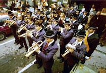 Ende 70er: Platzkonzert