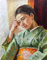 Mの肖像 F6号 2015.08  個人蔵