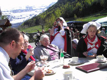 Kaffeetrinken in Gavarnie