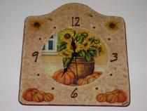 Orologio da muro (cm 19 x 22)