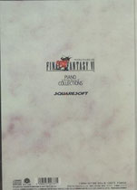 Piano Collections Final Fantasy VI (Back)