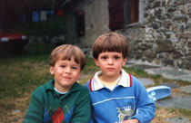 Vincent (left)