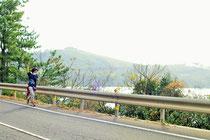 この前の日は西郷→中村区間を歩いたらしい 笑 とにかく元気です