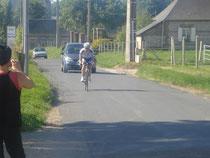 Nicolas Boury en CLM deuxième étape