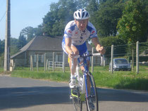 Aymeric Olin en CLM deuxième étape