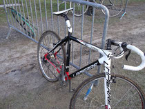 Vélo cassé de Arnaud Démare (FDJ)