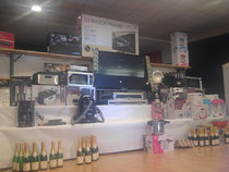 La vitrine : 55 tirages, 4000 euros de lots !!!
