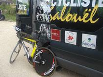 Vélo du vainqueur...