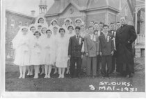 communion solennelle mai 1951