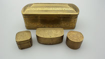 Item #IND0019 betel sirih box doos brass messing bronze indonesian indo indisch filipijns filipino
