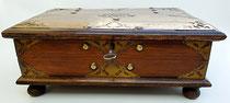 Item #DUT0004: Colonial chest, Dutch Indies, late 1800's