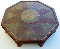 Item #IND0017 opium table tafel indian indonesian javanese antique