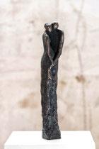 """""""Zärtlichkeit"""" - Bronze, 35cm"""