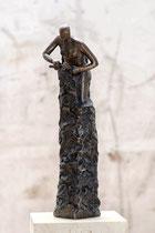 """""""Selbstverwirklichung"""" - Bronze, 46cm"""