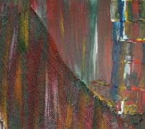 Ohne Titel - Acryl/Mischtechnik, 35x30