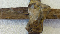 """Creu"" - Bronce y Madera petrificada, Aesch"