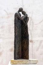 """""""Mitfühlen"""" - Bronze, 37cm"""