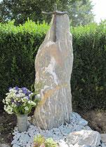 Grabstein auf dem Friedhof Therwil - Bronze