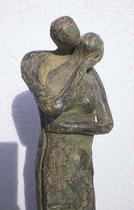 """""""Zärtlichkeit"""" - Bronze, 40cm"""