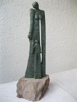 """""""Lebenszyklus"""" - Bronze, 41cm"""