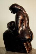"""""""Leben"""" - Terracota, 20.5cm"""