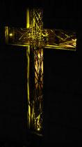 """Kreuz """"Hoffnung"""" - Bronze, Aesch"""