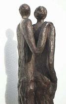 """""""Gemeinsam"""" - Bronze, 39cm"""