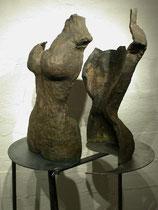 """""""Buscando el equilibrio"""" - Bronce, 56cm"""