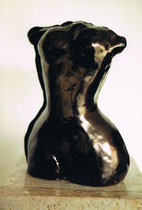 """Torso"" - Terracotta, 20cm"