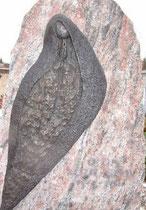 Grabstein auf dem Friedhof Reinach - Bronze