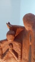 """""""Johannes der Täufer"""" - Terracotta, Aesch"""