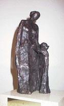 """""""Zuneigung"""" - Bronze, 20.5cm"""