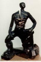 """""""Fuerza de vivir"""" - Terracota, 43.5cm"""