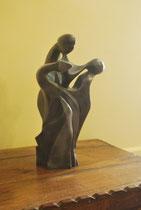 Les trois Nornes - Epreuve en bronze 7/8 tirée à la cire perdue 38 x 22 x 20 cm