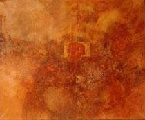 1978 huile sur toile feu (170x130cm) 5.200€