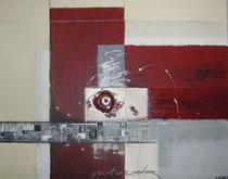 """peinture moderne"" Acryl auf Leinwand, 100x120 cm"