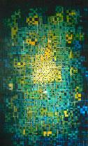 """""""Zentrum"""" Acryl auf Leinwand, 60x80 cm"""