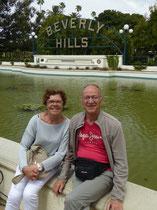 Nous avons longé les quartiers résidenciels de Beverly Hills