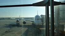 Notre A380 à Roissy