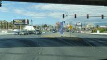 Vers la sortie de Las Vegas