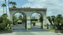 L'entrée des studios Paramount