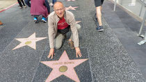 "Dans Hollywood Bd, sur le ""Walk of Fame"""