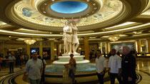 Dans le hall du Cesar Palace
