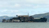 L'île d'Alcatraz et sa prison : nous ne les avons vues que de loin ...