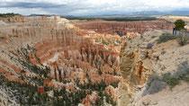 L'amphithéâtre de Bryce Canyon est gigantesque