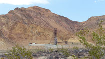 Une ancienne mine de borax dans la Vallée de la Mort
