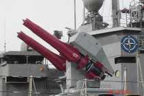 Lanzador de misiles antiaéreos Sea Dart