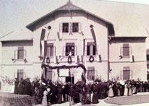 16. September 1900 - Fest zur Schuleröffnung (Foto: VS Liefering1/AStS))